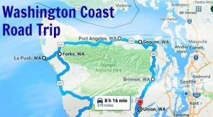 This Road Trip Will Show You Washington's Spectacular Coast Like Never Before