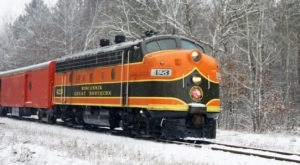 Spend The Night In A Historic Train Car At The Wisconsin Great Northern Railroad