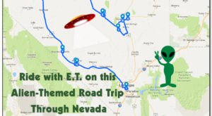 Ride With E.T. Along This Alien-Themed Road Trip Through Nevada
