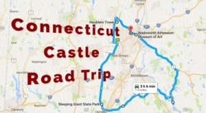 This Road Trip To Connecticut's Most Majestic Castles Is Like Something From A Fairytale