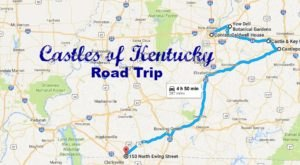 This Road Trip To Kentucky's Most Majestic Castles Is Like Something From A Fairytale