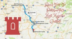 This Road Trip To The Most Majestic Castles Around Pittsburgh Is Like Something From A Fairytale