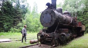 These Abandoned Locomotives Are Hiding Deep In The Woods Of Maine