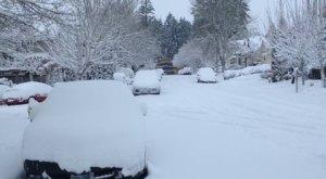 State Of Emergency Declared As Oregon Battles Snowmageddon