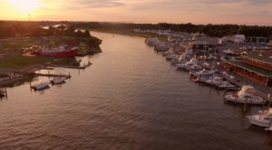 Someone Flew A Drone High Above Delaware And Captured The Most Breathtaking Footage