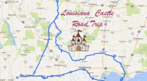 This Road Trip To Louisiana's Most Majestic Castles Is Like Something From A Fairytale