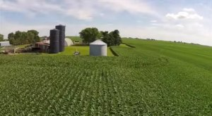 Someone Flew A Drone High Above Illinois And Captured The Most Breathtaking Footage
