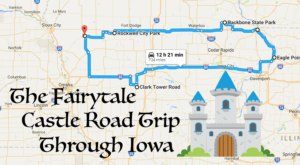 This Road Trip To Iowa's Most Majestic Castles Is Like Something From A Fairytale