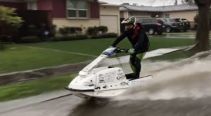 It Rained So Hard In Southern California People Are Literally Jet Skiing Down The Street