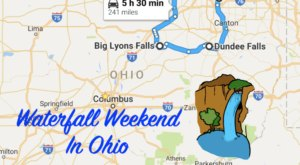Here's The Perfect Weekend Itinerary If You Love Exploring Ohio's Waterfalls
