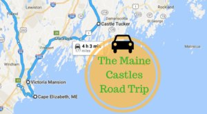 This Road Trip To Maine's Most Majestic Castles Is Like Something From A Fairytale