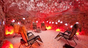 A One-Of-A-Kind Salt Cave In Ohio, Tranquility Salt Cave Completely Relaxes You