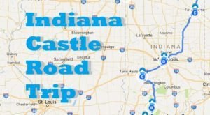 This Road Trip To Indiana's Most Majestic Castles Is Like Something From A Fairytale