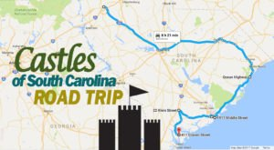 This Road Trip To South Carolina's Most Majestic Castles Is Like Something From A Fairytale