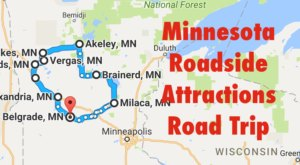 Take This Quirky Road Trip To Visit Minnesota's Most Unique Roadside Attractions