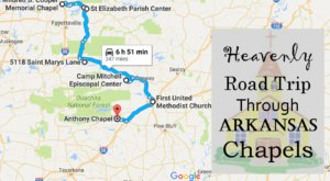 Take This Heavenly Road Trip To Arkansas' Most Beautiful Chapels