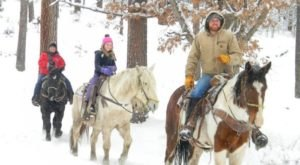 The Winter Horseback Riding Trail In New Mexico That's Pure Magic