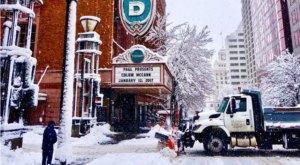 State Of Emergency Declared As Portlanders Battle Snowmageddon