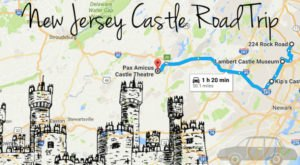 This Road Trip To New Jersey's Most Majestic Castles Is Like Something From A Fairytale