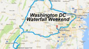 Here's The Perfect Weekend Itinerary If You Love Exploring Washington DC Waterfalls