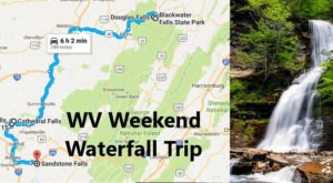 Here's The Perfect Weekend Itinerary If You Love Exploring West Virginia's Waterfalls