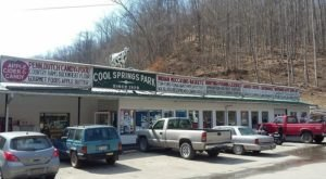 Cool Springs Park In West Virginia Is One Of The Most Unique Restaurants In America