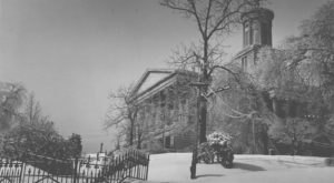 A Massive Blizzard Blanketed Nashville In Snow In 1951 And It Will Never Be Forgotten