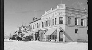 North Dakota's Major Cities Looked So Different In 1940. Bismarck Especially.