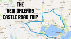 This Road Trip To The Most Majestic Castles Around New Orleans Is Like Something From A Fairytale