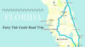 This Road Trip To Florida's Most Majestic Castles Is Like Something From A Fairytale