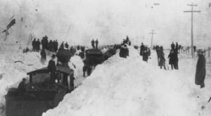 A Massive Blizzard Blanketed Kansas In Snow In 1886 And It's Never Been Matched Since