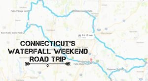 Here's The Perfect Weekend Itinerary If You Love Exploring Connecticut's Waterfalls