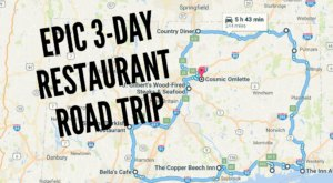 This Epic 3-Day Restaurant Road Trip In Connecticut Will Satisfy Your Adventurous Stomach