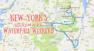 Here's The Perfect Weekend Itinerary If You Love Exploring New York's Waterfalls
