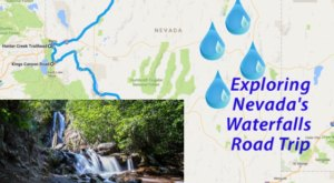Here's The Perfect Weekend Itinerary If You Love Exploring Nevada's Waterfalls