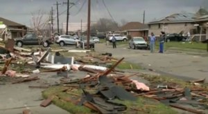 State Of Emergency Declared In Louisiana After Monster Tornadoes Touch Down