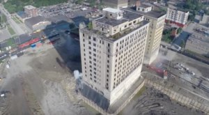 What This Drone Footage Caught In Detroit Will Drop Your Jaw