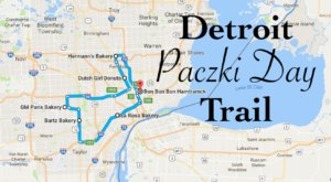 There's Nothing Better Than This Mouthwatering Paczki Trail In Detroit