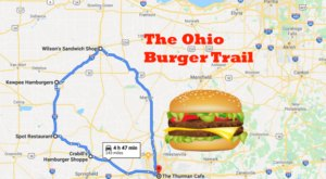 Take This Ohio Burger Trail For A Tasty Road Trip That Will Leave You Happy And Full