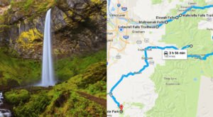 Here's The Perfect Weekend Itinerary If You Love Exploring Oregon's Waterfalls