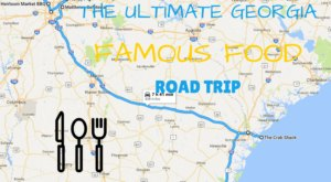 The Ultimate Famous Food Road Trip Through Georgia Will Make Your Mouth Water