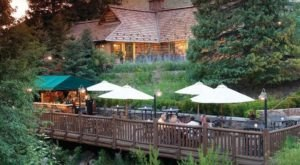 The Secluded Restaurant In Idaho With The Most Magical Surroundings