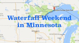 Here's The Perfect Weekend Itinerary If You Love Exploring Minnesota's Waterfalls