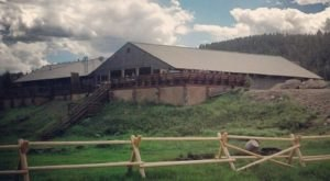 The Secluded Restaurant In Montana With The Most Magical Surroundings