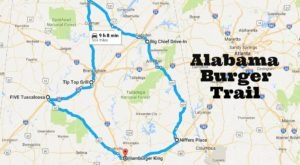 There's Nothing Better Than This Mouthwatering Burger Trail In Alabama