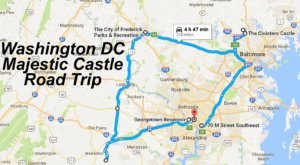 This Road Trip To The Most Majestic Castles Around Washington DC Is Like Something From A Fairytale