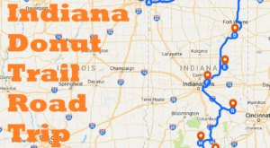 This Indiana Donut Trail Is The Most Delicious Road Trip You'll Ever Take