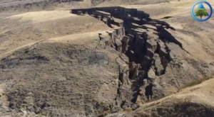 Someone Flew A Drone High Above Wyoming And Captured The Most Astonishing Footage