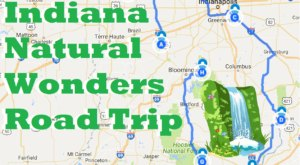 Here's The Perfect Weekend Itinerary If You Love Exploring Indiana's Natural Wonders