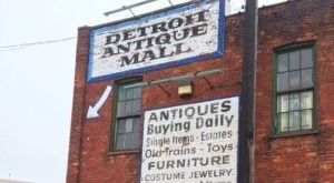 You'll Never Want To Leave This Massive Antique Mall In Detroit